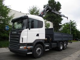 platform truck Scania G420 6X2 2021