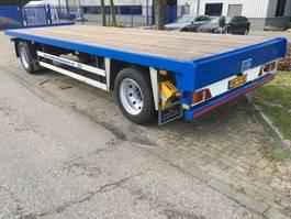 drop side full trailer Floor 2 As FLA 9 91B Vrachtwagen Aanhangwagen Open, WR-76-XB 1997