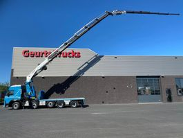 crane truck Terberg FM2850 10X4 + FASSI F1100AXP.26 + JIB L616 KRAAN/KRAN/CRANE/GRUA 2009