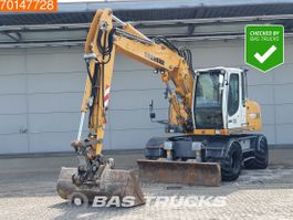 wheeled excavator Liebherr A314 Litronic ALL FUNCTIONS - 80% TYRES 2012