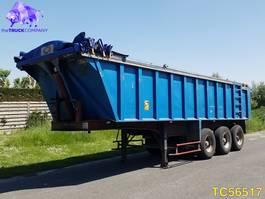 tipper semi trailer Benalu Benalu_SIDERALE Tipper 1997