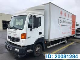 closed box truck Nissan 56.15 2010