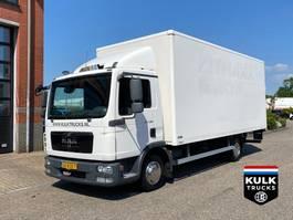 closed box truck MAN TGL 7 BB 2011