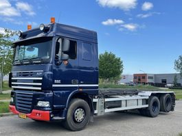 container truck DAF Xf 105 460 6x2  nch kabelsysteem 2008