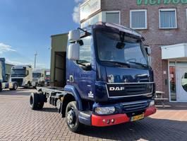 chassis cab truck DAF LF45-160 4X2 CHASSIS CABINE EURO5 EEV HANDGESCHAKELD BLADGEVEERD 2008