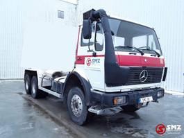 chassis cab truck Mercedes-Benz 2225 om 422 V8 no 2628 1989