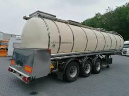 tank semi trailer semi trailer Feldbinder TSA 33.3 Drucktank- Heizung- Pumpe- 33.000 Liter 1998