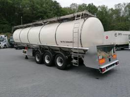 tank semi trailer semi trailer Feldbinder TSA 33.3 Drucktank- Heizung- Pumpe- 33.000 Liter 2007