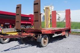 loading ramp full trailer MOL A 56 - DIEPLADER  - 7.300 KG LAADVERMOGEN RAMPEN VOOR ETN ACHTER