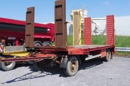 lowloader trailer MOL A 56 - DIEPLADER  - 7.300 KG LAADVERMOGEN RAMPEN VOOR ETN ACHTER