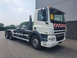 container truck DAF CF 85.360 6X4 CONTAINER SYSTEEM- CONTAINER SISTEEM- CONTAINER HAAKSYSTEEM- SYSTEME CONTENEUR 2008