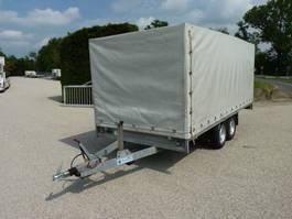 tilt car trailer Anssems PSX2 plateauwagen alu. borden , huif 2011
