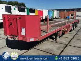 flatbed semi trailer ES-GE 4.V0D-25-40.4H.13 4 axle 19.7m total 2000