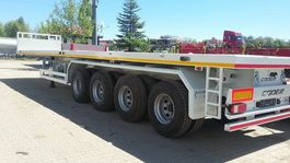 flatbed semi trailer Coder PC60 - Heavy Duty Container Flatbed - Off-Road - NEW 2021