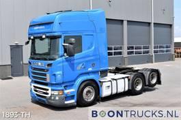 cab over engine Scania R620-V8 6x2   EURO5 * RETARDER * FULL AIR * BOOGIE * 2 X FUEL TANK 2011