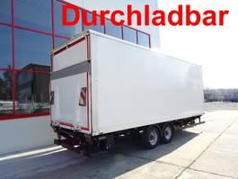 closed box trailer Möslein TKO 105 DL Schwebheim Tandemkofferanhänger mit LBW + Durchladbar 2017