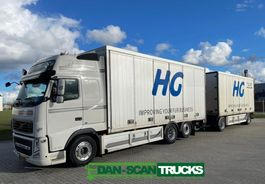 closed box truck Volvo FH 460 Sideoppening box inkl. Trailer- 2013