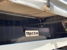 sliding curtain semi trailer Tracon TO 3 2008