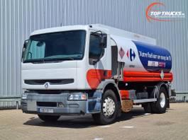 tank truck Renault Premium 270 DCI Magyar 13.500 ltr. - ADR - Fuel, Pomp 2006