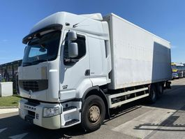 closed box truck Renault Premium 450 DXI 6X2 MANUAL - EURO 5 2009