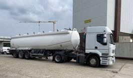 tank semi trailer semi trailer Trailor Benzin & Diesel - fuel tank- Aluminium, 38-6