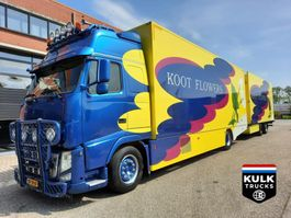 refrigerated truck Volvo FH 460 EEV 4X2 / LOW MILAGE / COMBI HORSE / RACE / TRAILER INCLUSIEF 2010