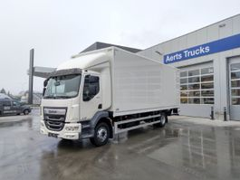 closed box truck DAF LF 290 FA 16t - Day Cab - AS-Tronic - DAF Connect 2021