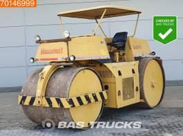 soil compactor Ammann NS 10 DEUTZ ENGINE - SPRINKLER 1980