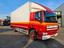 closed box truck DAF CF 75 250 EURO 5 667000 KM 2010