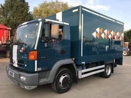 closed box truck Nissan ATLEON 120.16 **BELGIAN TRUCK-45000KM-FULL STEEL** 2004