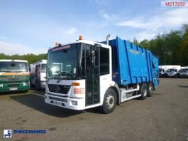 garbage truck Mercedes-Benz 2629 6x2 RHD Faun refuse truck 2008