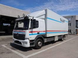 closed box truck Mercedes-Benz Atego 1221 2014