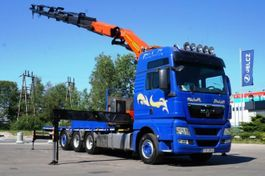 crane truck MAN 35.540 8x4 Palfinger PK 50002 EURO 5 Kran 2012