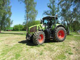 farm tractor Claas 950 Axion, Druckluft, Klima, CMatic 2013