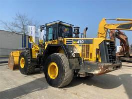 wheel loader Komatsu WA 470-6 2011