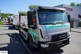 container truck Renault K02 mini lift dumper 2017