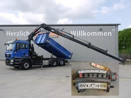 tipper truck > 7.5 t MAN TGS 28 BL, 6x2, Hiab X-Hiduo 188 ES-4 2016
