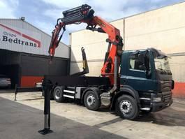 crane truck DAF CF 85 PALFINGER 60002 + jib 2007