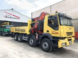 crane truck Iveco Eurotrakker 410 Fassi 455 Xp + Jib 2007