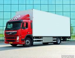 closed box truck Volvo FM 330 EEV  15 KARREN BAK  KACHEL  HARDHOUTEN VLOER GEISOLEERD 2011