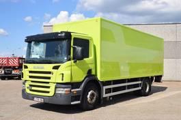 closed box truck Scania P 230 4X2 2005