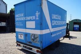 closed box trailer Kaiser 2-assige aanhangwagen 1989