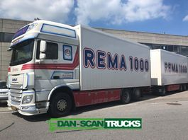 box truck DAF XF 510 inkl. Trailer from 2015 - Special interior 2015