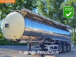 tank semi trailer semi trailer Feldbinder Food / Tank Heating / 32.500Ltr. / 1 Comp. 2001