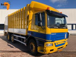garbage truck DAF CF 75 .310 Carbage truck  23 M³ Schijndel WORKING PERFECTLY 2008