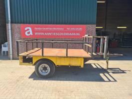 drop side full trailer Bakkenwagen