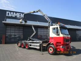 container truck Renault PREMIUM 8x4 Tridem 2014