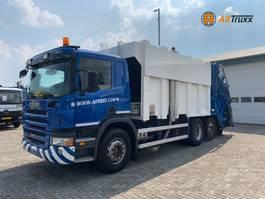 garbage truck Scania P 6X2 Retarder Garbage truck 2008