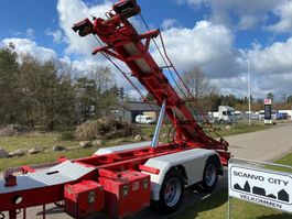 container chassis semi trailer 2 akslet 20 ton 3 vejs wirehejs 2009