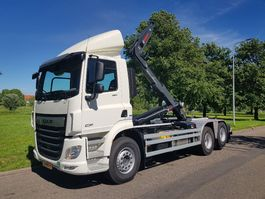 container truck DAF CF 480 FAS 6x2 Haakarm voertuig